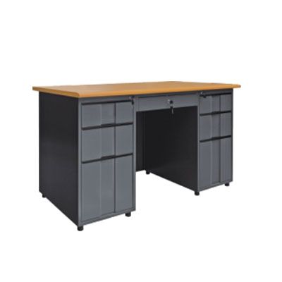 Products Show Double Pedestal Office Desk School Teacher Desk - 6 foot office table