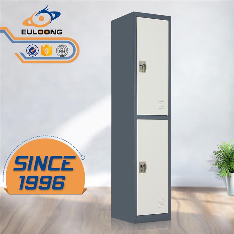 2 door steel wardrobe locker
