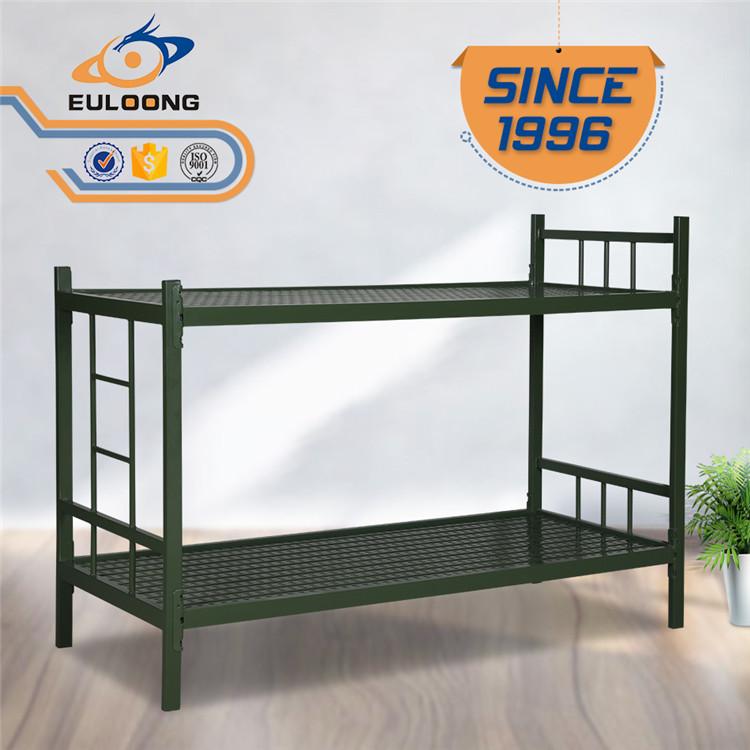 Double Bunk Beds Metallic Frame